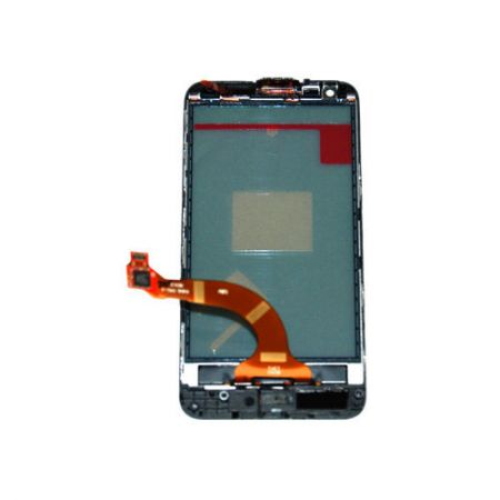 Nokia 00808W4 A-Cover + digitizer - kolor czarny - Nokia Lumia 620