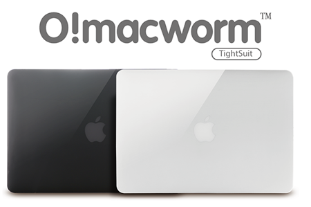 Obudowa O!macworm 0,9mm TightSuit Case | Apple MacBook Pro Retina 13"