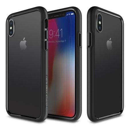 Obudowa Patchworks Level Silhouette Apple iPhone X / 10  Black