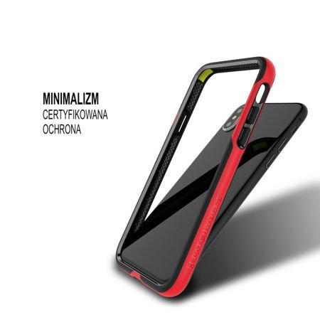 Obudowa Patchworks Level Silhouette Apple iPhone X / 10 Red / Black