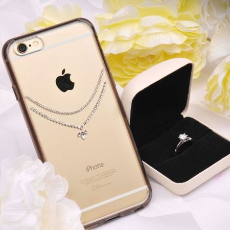 Obudowa Rearth Ringke Noble Necklace Clear Apple iPhone 6 iPhone 6S Przezroczysta