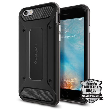 Obudowa Spigen Neo Hybrid Carbon Apple iPhone 6 / 6S Gunmetal