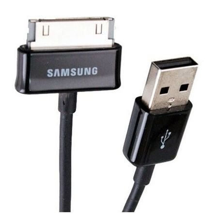 Oryginalny kabel Samsung - ECB-DP4ABE / ECC1DPOU - Data + Charging Cable - 30 Pin to USB - 1m - Czarny - Standard USB 2.0