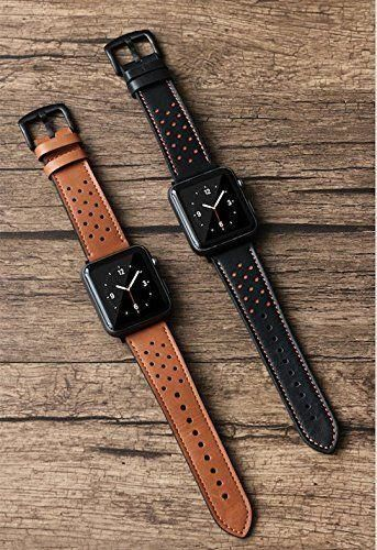 Pasek Tech-Protect Leather Brown do Apple Watch 1/2/3 (42MM)