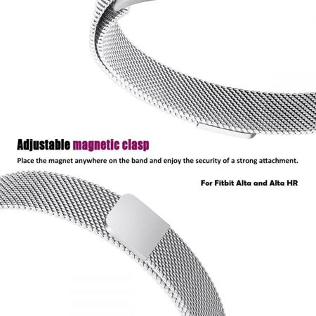 Pasek Tech-Protect MilaneseBand Black do Fitbit Alta