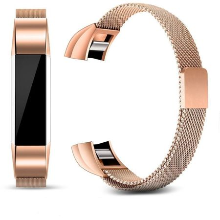 Pasek Tech-Protect MilaneseBand Rose Gold do Fitbit Alta
