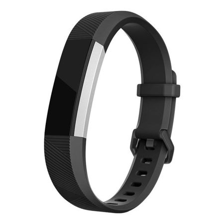 Pasek Tech-Protect Smooth Black do FitBit Alta