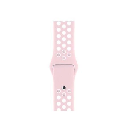 Pasek Tech-Protect SoftBand Light Pink / White do Apple Watch 1 / 2 / 3 (38mm)