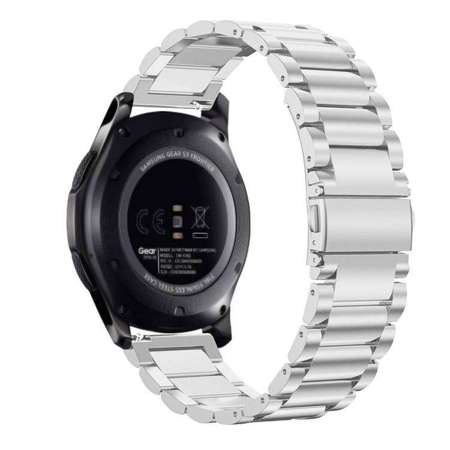 Pasek Tech-Protect Stainless Silver do Samsung Gear S3