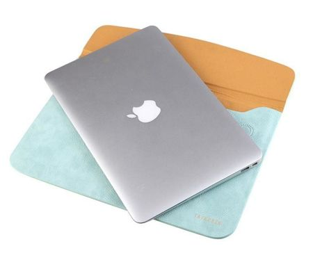 Pokrowiec TECH-PROTECT Taikesen Apple MacBook Air / Pro 13 Jasno Brązowy