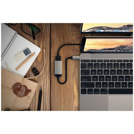 ADAPTER SATECHI USB-C DO HDMI 4K 60Hz - SPACE GRAY