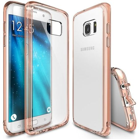 Rearth Ringke Fusion Rose Gold | Etui dla Samsung Galaxy S7 Edge