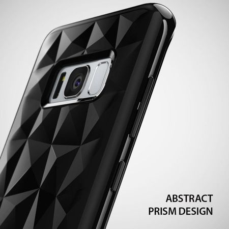 Rearth Ringke Prism Air Ink Black | Obudowa ochronna dla Samsung Galaxy S8+ Plus