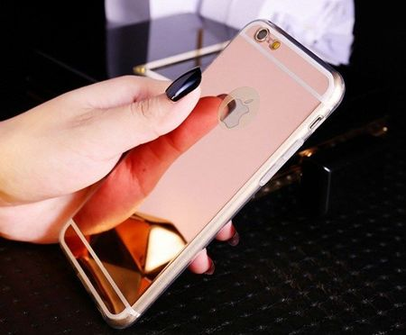Slim Mirror Case Różowy | Etui dla Apple iPhone 6 Plus / 6S Plus
