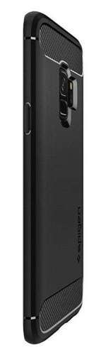ETUI SAMSUNG GALAXY S9 - SPIGEN RUGGED ARMOR BLACK