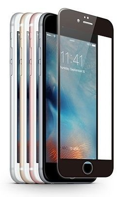 Szkło ochronne z ramką JCPAL 3D Glass Screen Protector Apple iPhone 6 / 6S Czarne
