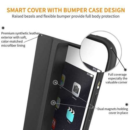 TECH-PROTECT SmartCase Black | Obudowa Apple iPad Air