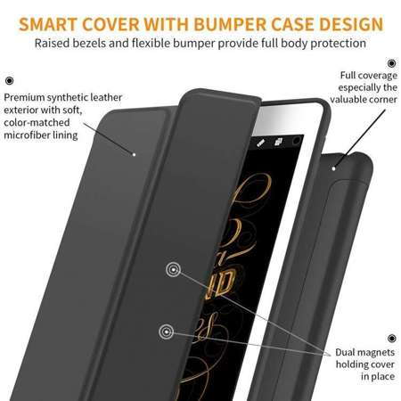 TECH-PROTECT SmartCase Black | Obudowa Apple iPad Pro 10.5