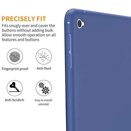TECH-PROTECT SmartCase Navy Blue | Obudowa Apple iPad Air 2