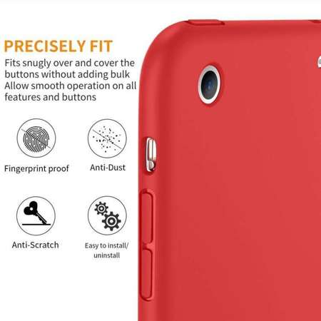 TECH-PROTECT SmartCase Red | Obudowa Apple iPad Mini 1 / 2 / 3