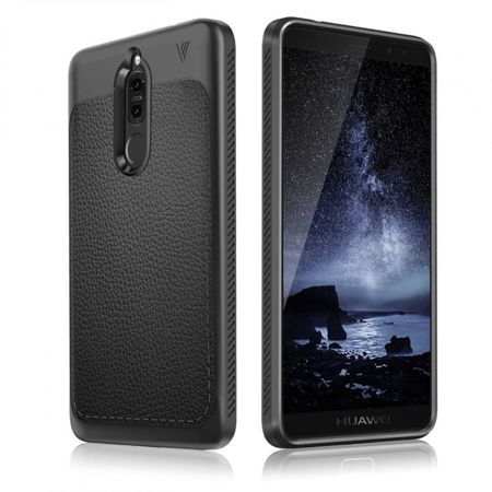 TECH-PROTECT TPULeather Black | Obudowa dla Huawei Mate 10 Lite