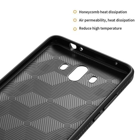 TECH-PROTECT TPULeather Black | Obudowa dla Huawei Mate 10 Pro
