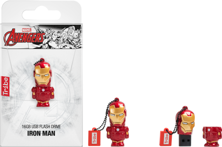 TRIBE Marvel Pen drive 16 GB Iron Man