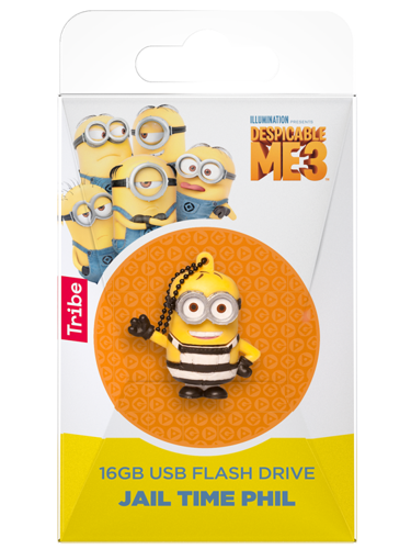 TRIBE Minionki Pen drive 16 GB Phil