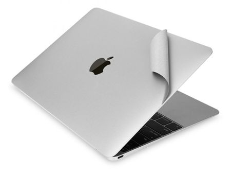 Tech-Protect 3M Skin Silver | Zestaw 3 folii ochronnych do Apple MacBook Pro 13 2016 / 2017 z Touch Bar