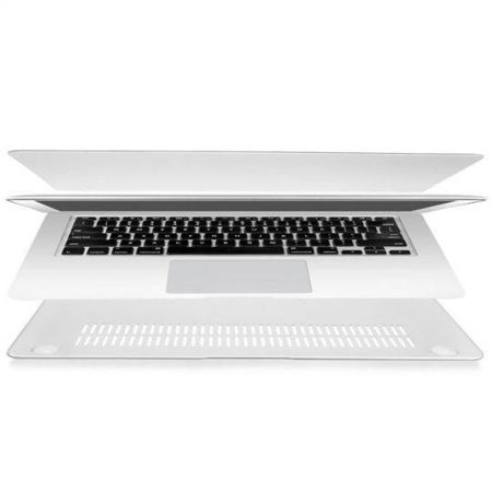 Tech-Protect Smartshell Matte Clear | Obudowa ochronna dla Apple MacBook Pro 15 Retina