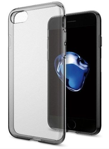 ZESTAW | ETUI SPIGEN LIQUID CRYSTAL SPACE CRYSTAL + FOLIA 3MK FLEXIBLE - iPhone 7 / 8