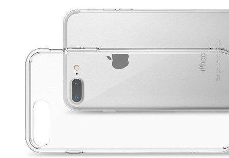 outlet store acd95 bce76 Zestaw   Rearth Ringke Fusion Smoke Black   Obudowa + Szkło ochronne  Perfect Glass dla modelu Apple iPhone 7 Plus