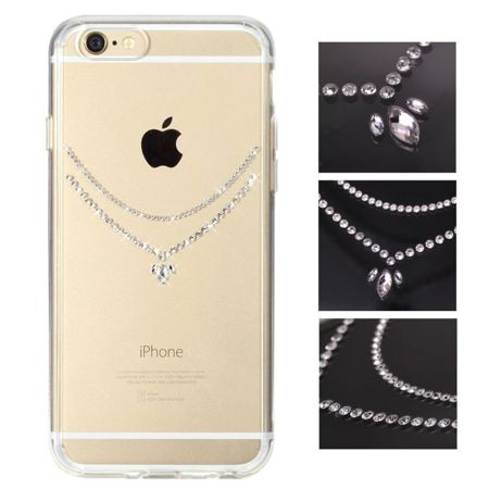 Zestaw Szkło ochronne Benks OKR + 0,3 mm + Obudowa Rearth Ringke Noble Necklace Clear Apple iPhone 6 / 6S